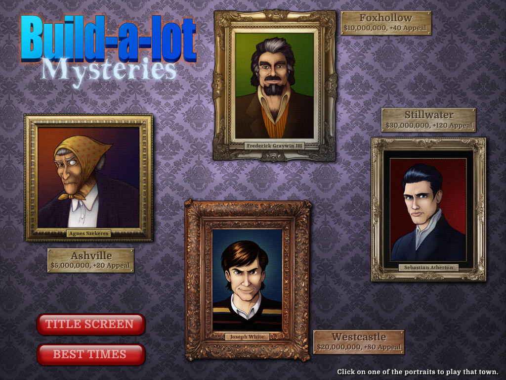 Build-a-lot Mysteries Screenshot