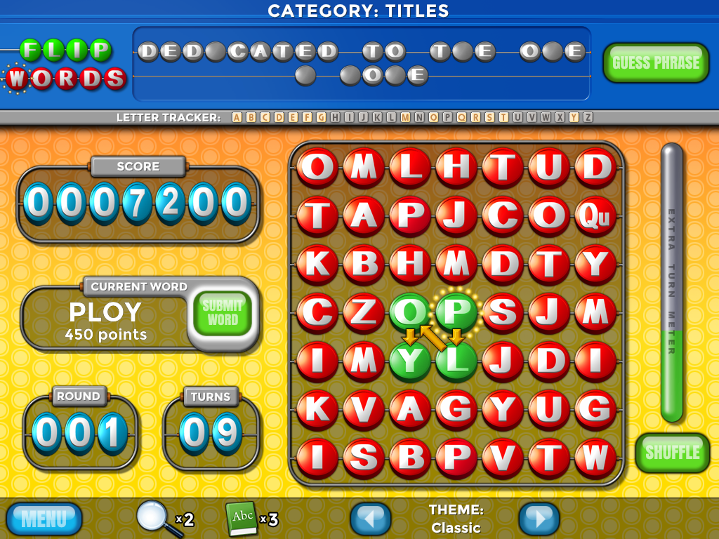 Flip Words Mobile Screenshot