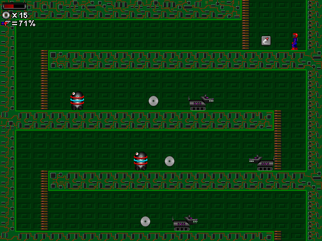 Microman's Crazy Computers Screenshot